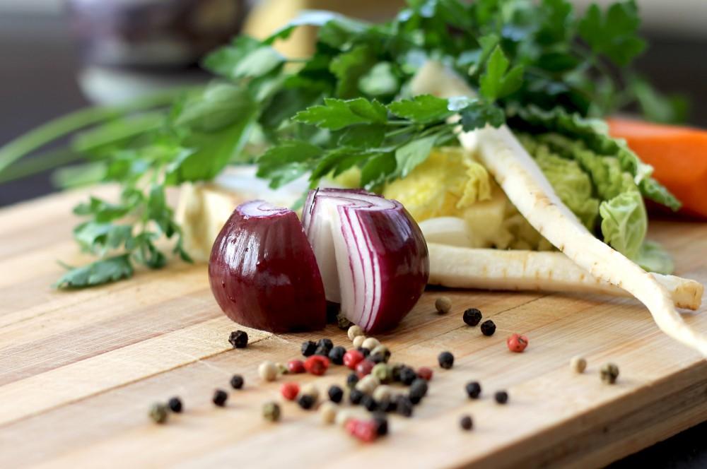 Autumn produce - Parsnips