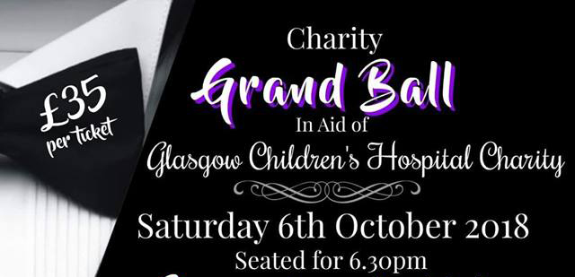 Grand Ball in aid of Glasgow Children's Hospital Charity